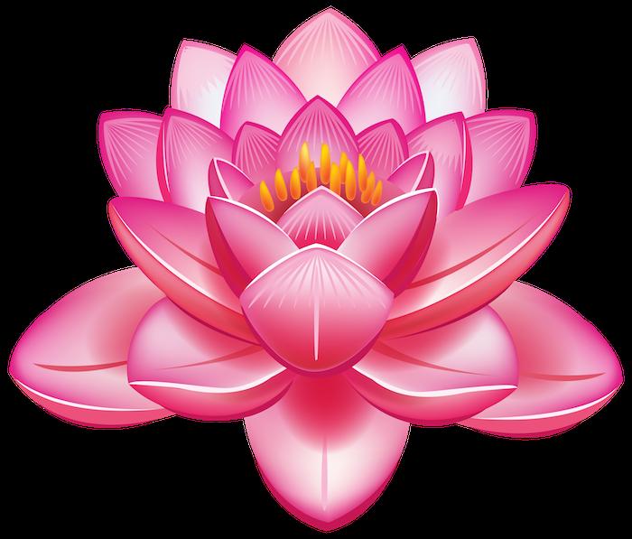 Coloré fleur de lotus dessin, femme beauté dessin sur la peau, dessin coloré rose lotus magnifique