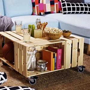 Les meilleures idées pour détourner une caisse en bois IKEA