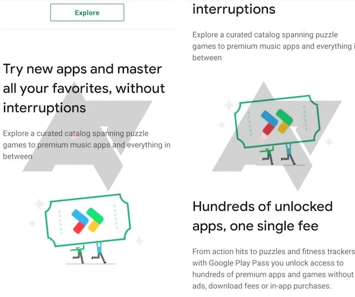 Avec Play Pass, Google promet d'avoir accès à des centaines d'applications et de jeux premium pour 4,99 dollars par mois