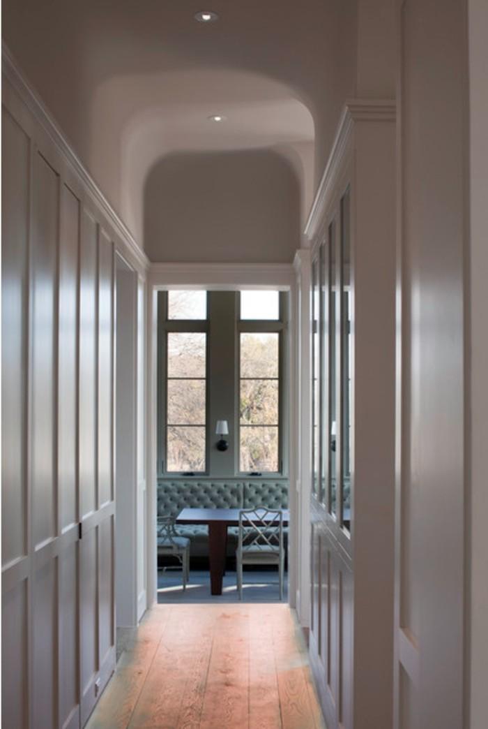 Couloir qui donne au salon, photo déco couloir étroit, images inspiration décoration intérieur