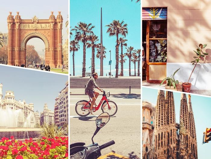 quels lieux visiter à Barcelone, idée site touristique à Barcelone, architecture catalane à Barcelone