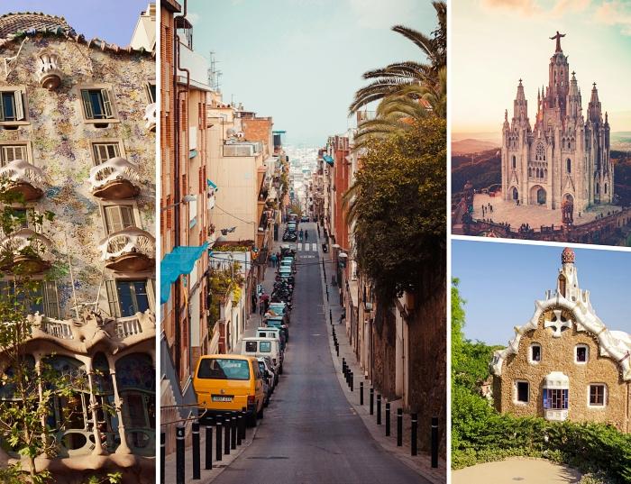 organiser un week-end en amoureux à Barcelone, lieux touristiques à visiter à Barcelone, architecture moderniste catalane