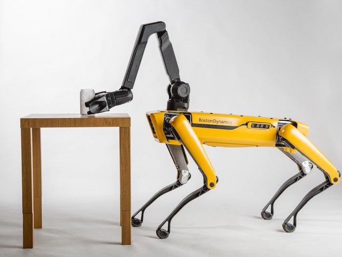 La commercialisation du chien robot Spot vient d'être lancée par Boston Dynamics