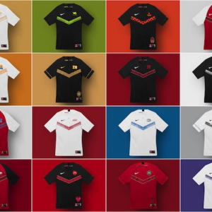 Nike a dévoilé les maillots officiels du championnat e-sport de League of Legends