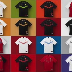 Nike a dévoilé les maillots officiels du championnat e-sport de League of Legends