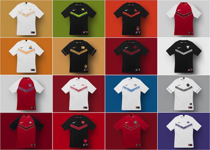 Nike a dévoilé les nouveaux maillots officiels qui équiperont les seize équipes du championnat Pro League chinois de League Of Legends