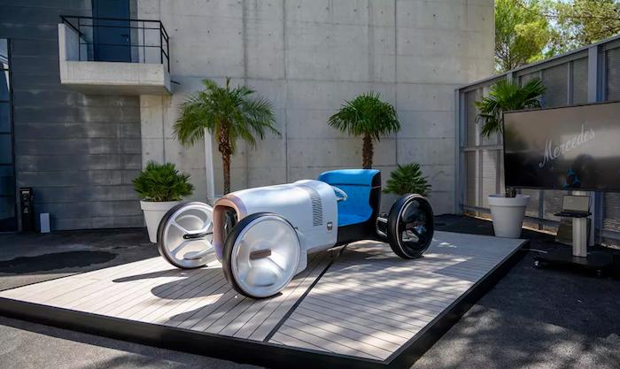 Le concept Vision Mercedes Simplex présentée au Centre de Design Mercedes de Nice