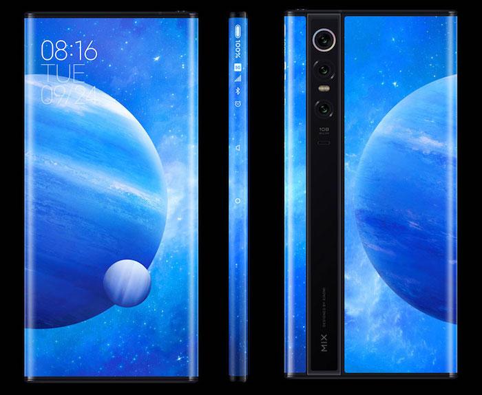 Le Xiaomi Mi Mix Alpha est doté d'un appareil photo très haute résolution de 108 mégapixels