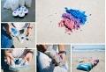 Activités avec du sable coloré pour prolonger l'été