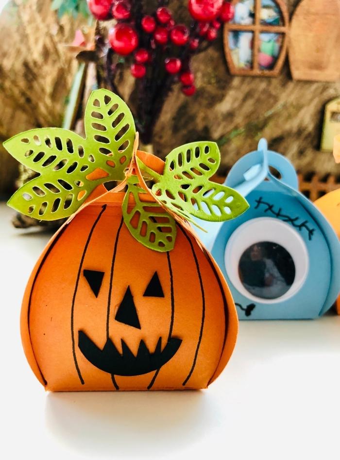 diy décoration pour halloween, activité manuelle facile et rapide pour halloween, photo halloween de décor diy