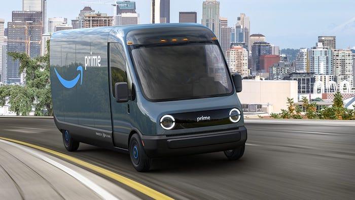Jeff Bezos vient d'annoncer que Amazon passait commande de 100 000 camionnettes électriques auprès de la société Rivian