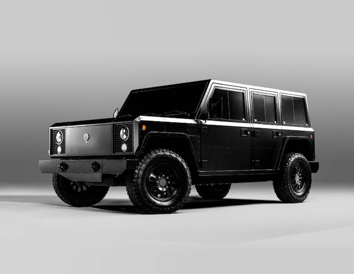 La jeune marque américaine Bollinger Motors vient de dévoiler ses deux modèles de véhicules tout-terrain électriques, B1 et B2