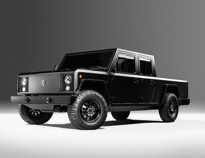 La start-up américaine Bollinger Motors a dévoilé les B1 et B2, ses deux véhicules tout-terrain électriques
