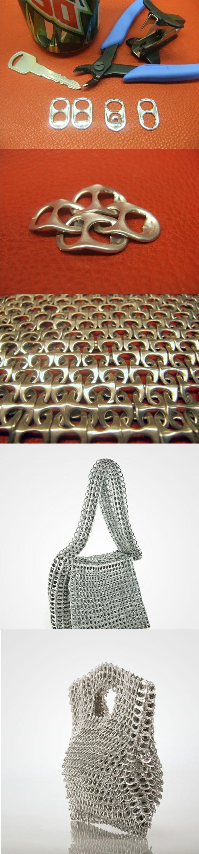 activité créative, idée recyclage bricolage facile, activité manuelle facile et rapide, diy création en métal facile