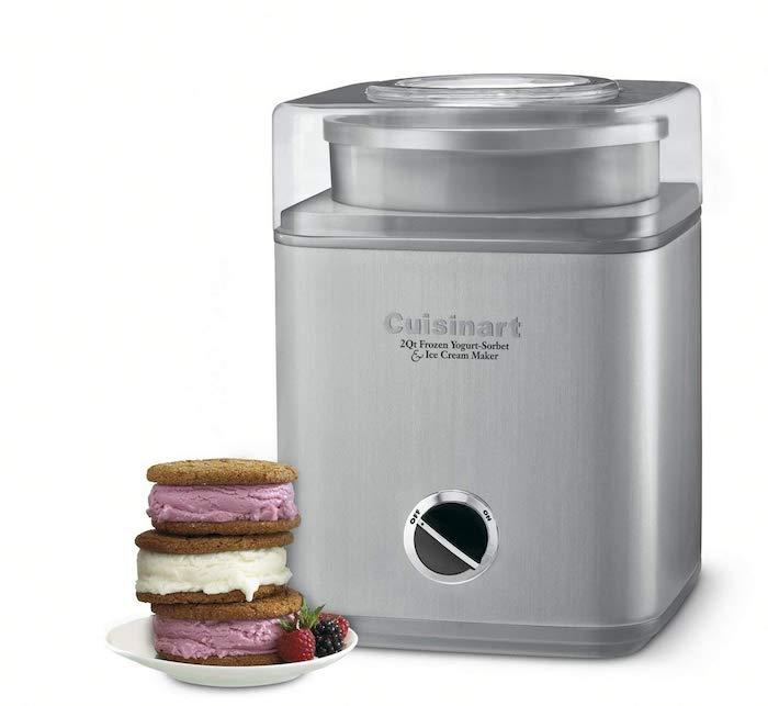 Idée cadeau couple, cadeau de cremaillere machine à yaourt glacé, cadeau 1 an couple occasion spécial