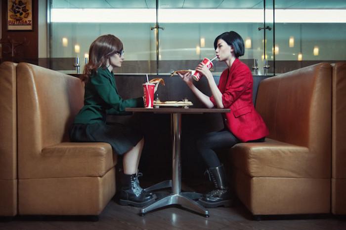 Daria et Jane de série animé Datria déguisement, nostalgie style année 90, idée deguisement couple amies