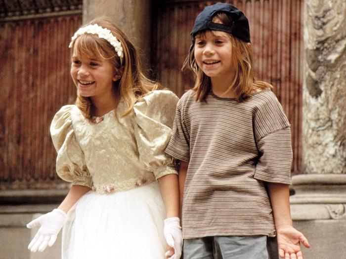 Les jumelles Olsen tenue année 90, deguisement film ou série télé cool, deguisement enfant