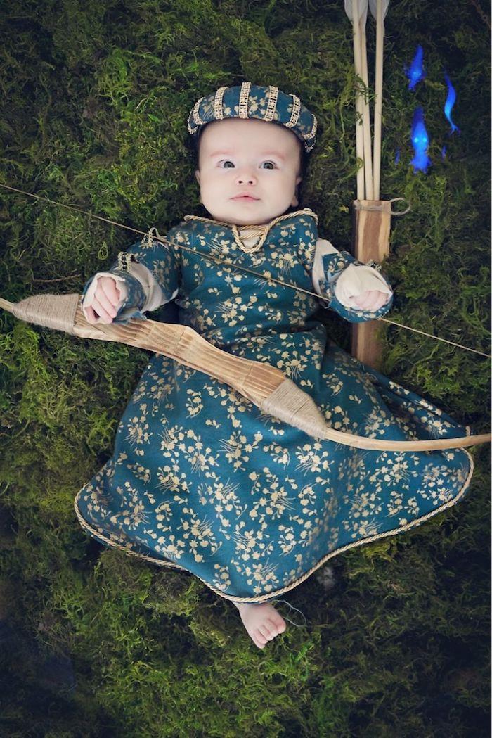 Bebe deguisement princesse, deguisement bebe halloween, idée caractère de disney deguisement