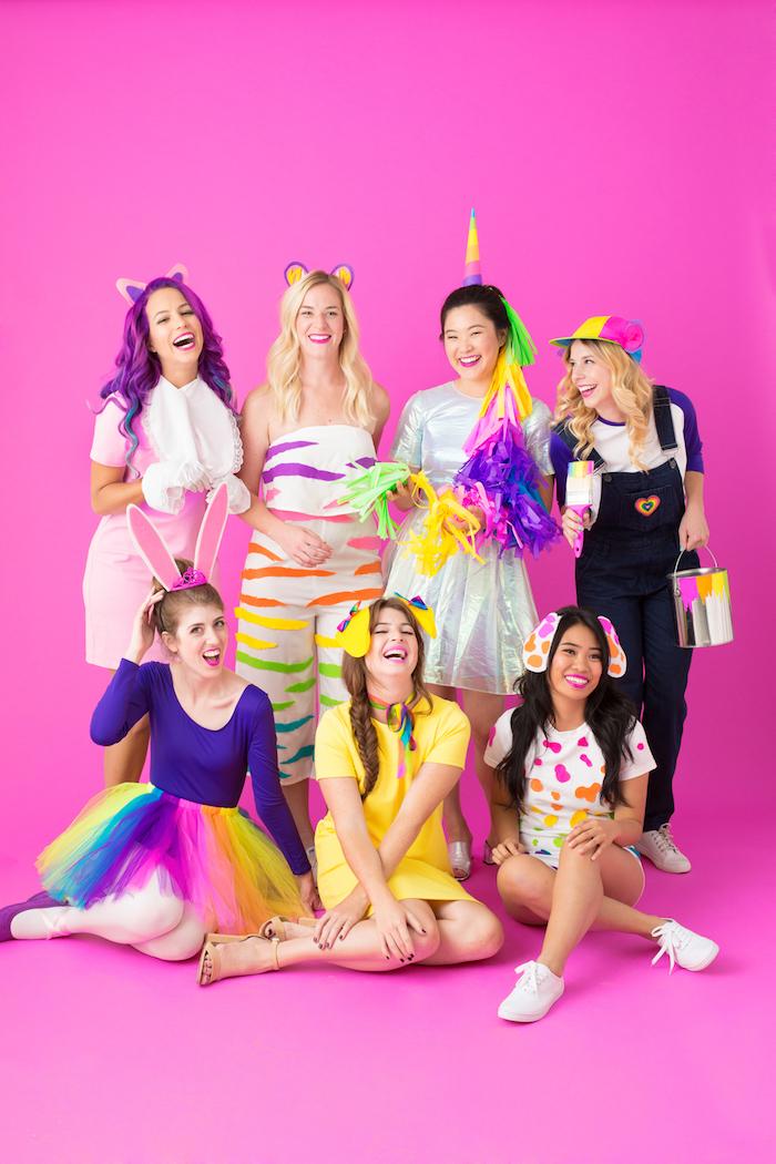 Jouets en peleuche TY deguisement groupe, originale idée déguisement couple, idée originale pour une groupe de filles