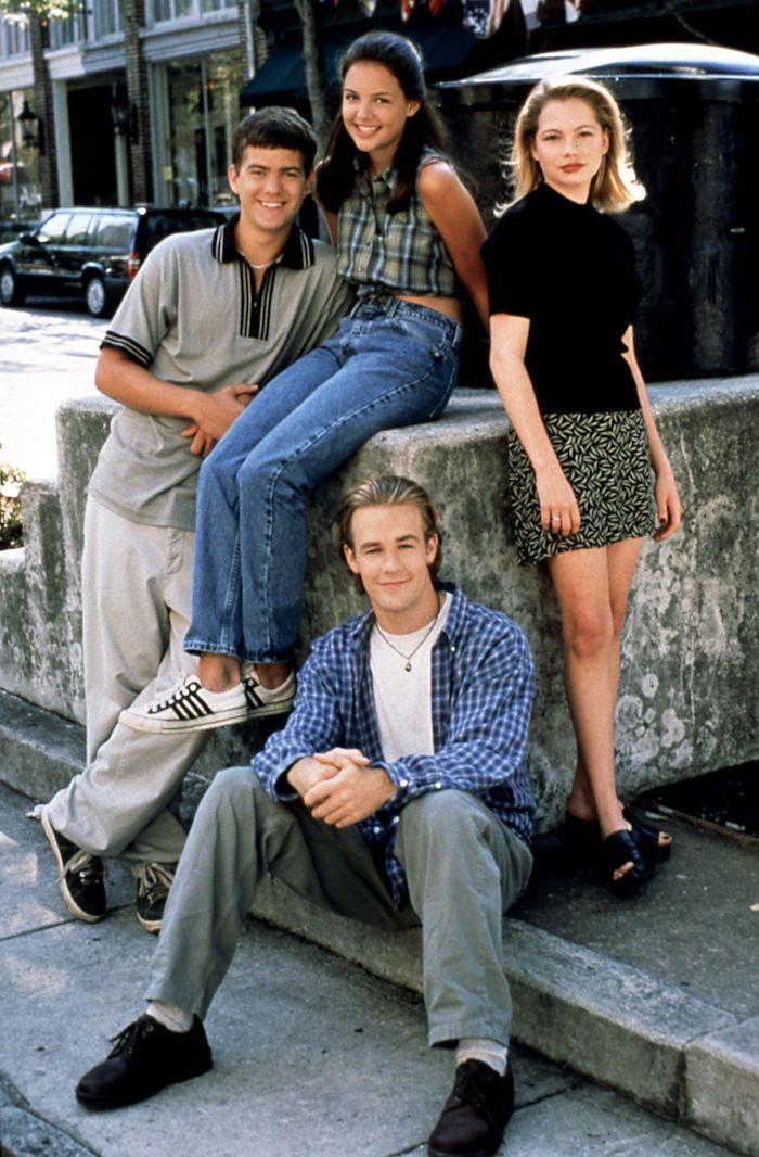Dawson's creek caracteres déguisement de groupe simple à faire dernière minute, déguisement serie tv, look année 90, mode du siècle précédent