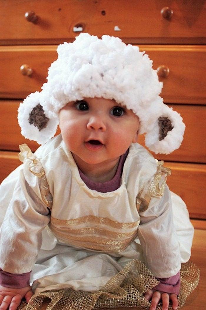 Adorable photo deguisement bebe garcon, costume animal pour bébé, robe et chapeau star wars deguisement