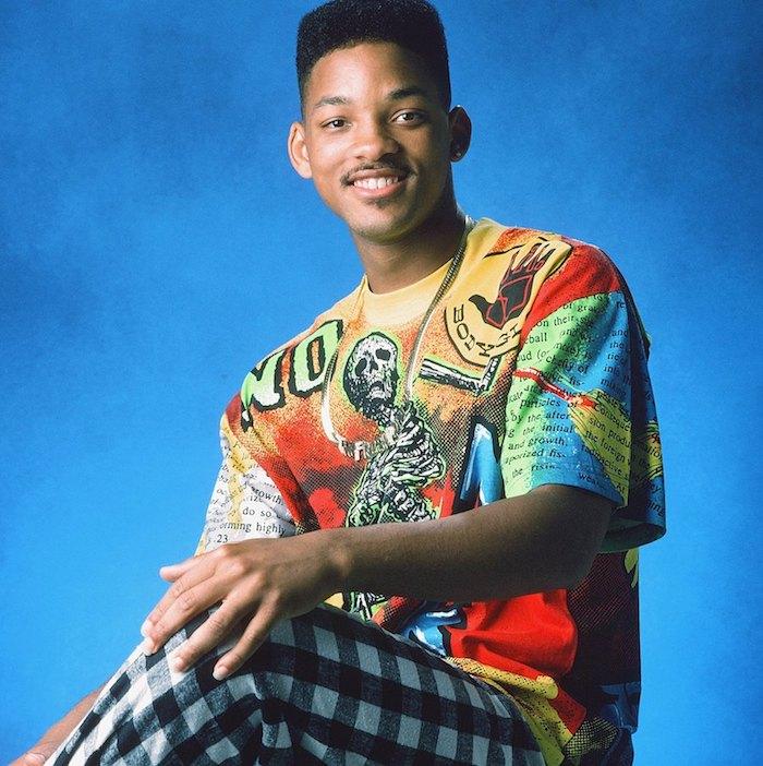 Style année 90, s'amuser entre amis, déguisement 90s de série télé Prince de Bell air