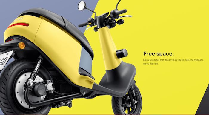 Gogoro dispose d'un réseau de stations permettant aux utilisateurs de ses scooters électriques d'échanger leur batterie lorsque celle-ci est vide