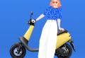 Le scooter électrique Viva de Gogoro veut «conquérir le monde»