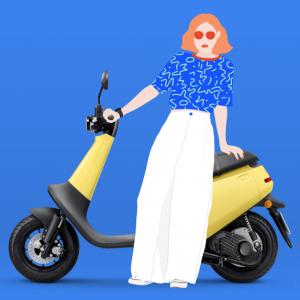 """Le scooter électrique Viva de Gogoro veut """"conquérir le monde"""""""