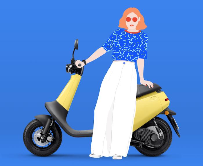 Le scooter électrique Viva de Gogoro sera disponible en 2020 à 2000 dollars et sera entièrement personnalisable