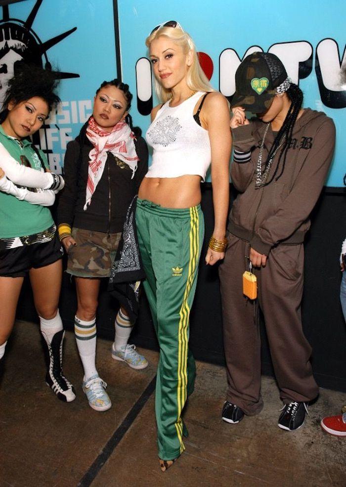Gwen Stefani déguisement femme sportive, déguisement année 90, halloween amusement costumes originaux