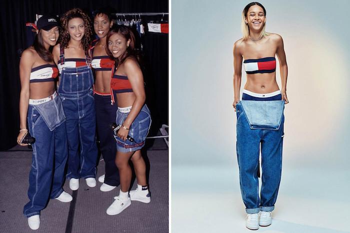 Hip hop deguisement serie tv, les looks des années 90 en images, cool idée costume dernier minute