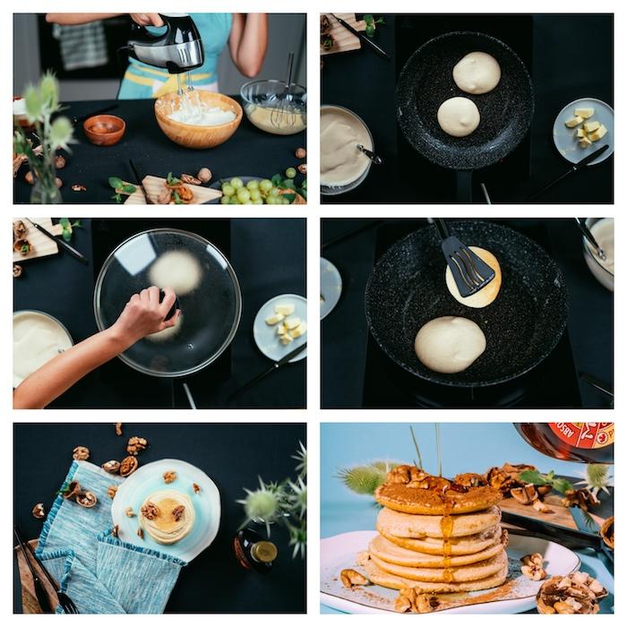 recette pâte à crêpes archzine studio, comment faire des pancakes américaines etape par etape