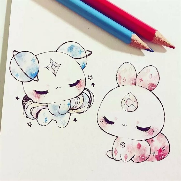Cute Dessin Kawaii Animaux Facile A Faire