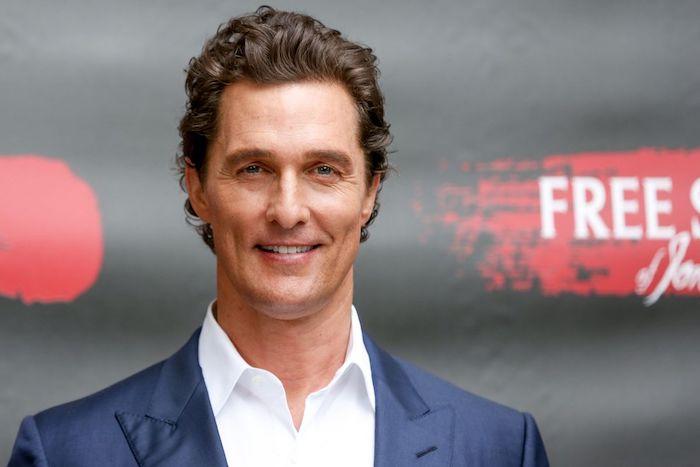 Matthew McConaughey devient officiellement Professeur de Cinéma à L'université Of Texas