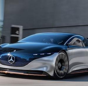 Mercedes a dévoilé sa Vision EQS, le futur électrique de la berline de luxe