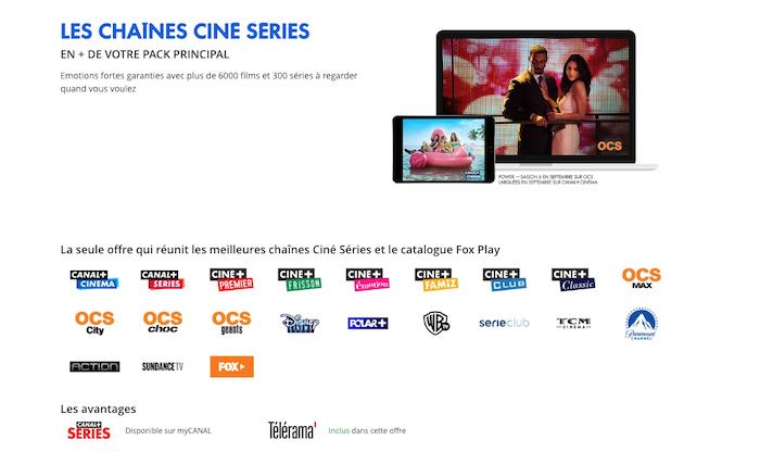 Netflix sera compris dans l'offre de Canal Plus Ciné / Séries à partir du 15 octobre