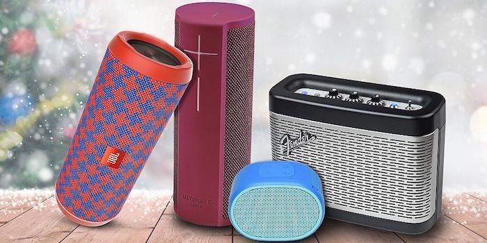 Wireless speaker idée cadeau commun pour parents, offrir un bon cadeau
