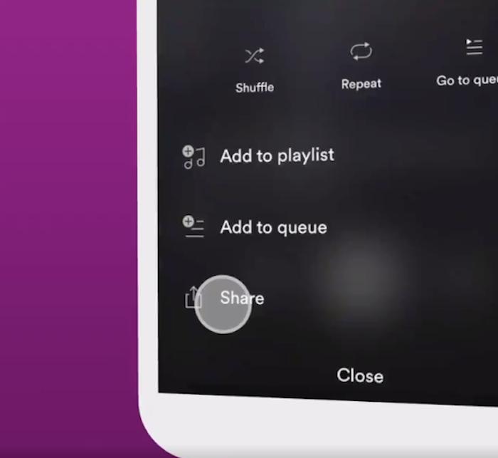 Spotify rend désormais possible le partage d'extraits de morceaux dans les Facebook Stories