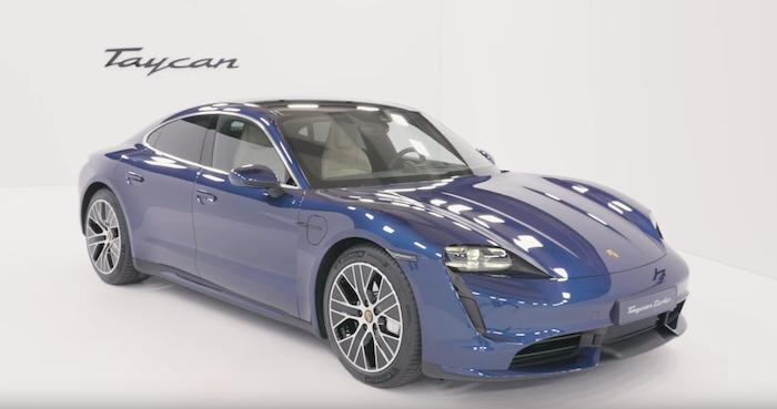 Après quatre ans d'attente, Porsche a finalement dévoilé sa Taycan électrique