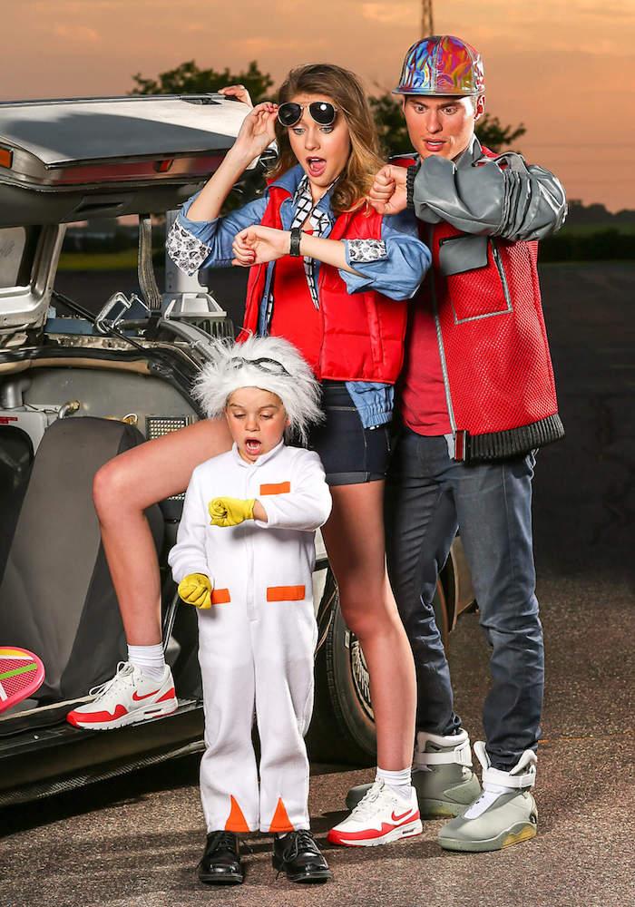 Retour vers le future deguisement pour toute la famille, deguisement cinéaste, cool idée habits