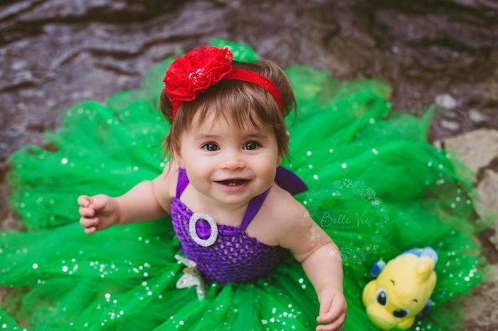 Ariel deguisement halloween fille, déguisements pour toute la famille, princesse de disney Ariel costume