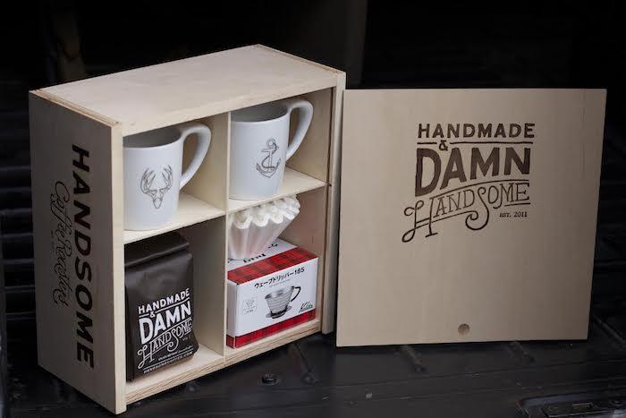 Tasses pour couple et café hipster cadeau amoureux, coffret cadeau couple original