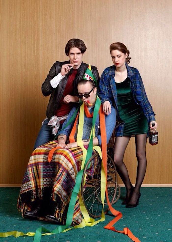 Style année 90, s'amuser entre amis, déguisement 90 Tween Peaks déguisement