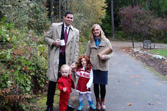 Twin peaks déguisement famille, tenue année 90, style année 90, serie populaire dans les 1990