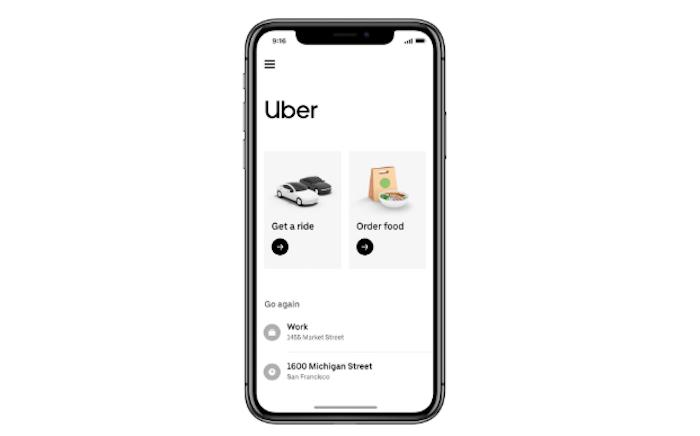 Uber fusionne son application de VTC avec celle de Eats et propose de nouveaux services