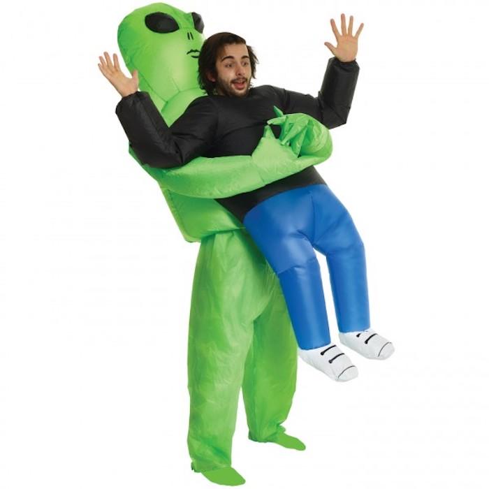 Costume d'extraterrestre qui prenne un homme déguisement facile, comment s'habiller pour halloween