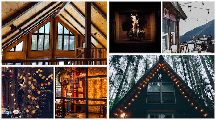 Chaleur déco chalet, comment décorer une chambre chalet, intérieur et extérieur d'une maison à la montagne