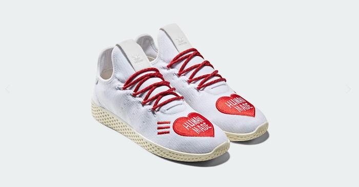 Adidas s'associe avec Human Mande de Nigo pour la collection capsule Human Race X Human Made : Tennis Hu