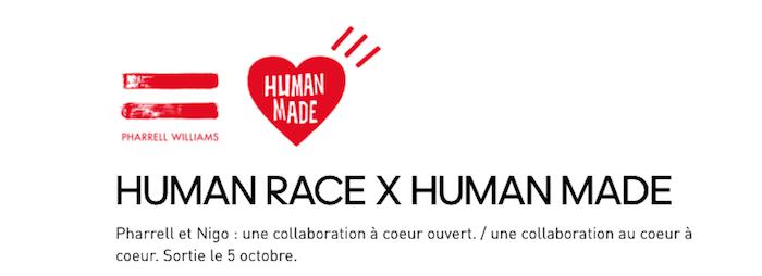 Pharrell Williams et Nigo lancent la collection capsule Human Race X Human Made X Adidas